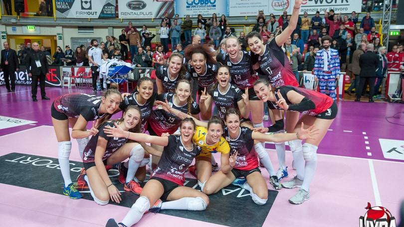 Volley: Coppa Italia Femminile, Novara, Busto, Monza e Conegliano alla Final Four
