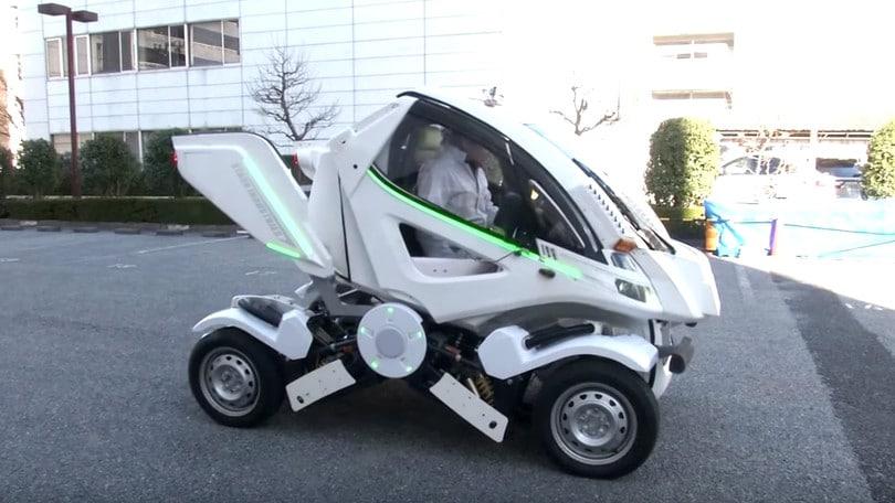 Earth-1, l'auto pieghevole disegnata dal padre di Gundam