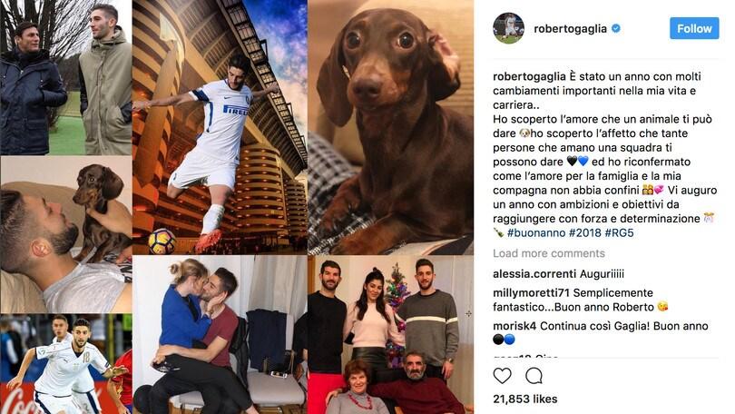Gagliardini: «A tutti un fantastico 2018»