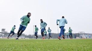 Capodanno no stop, primo allenamento del 2018 per la Juventus