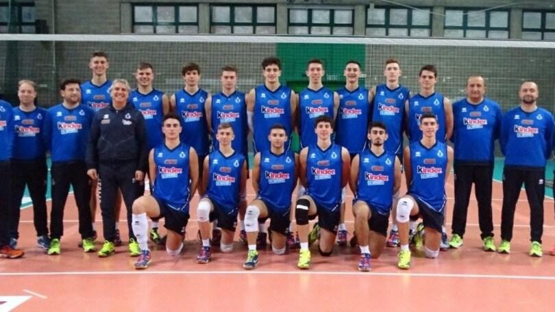 Volley: Europei Under 18, Fanizza ha scelto i 12 azzurrini