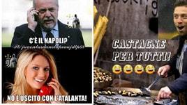 Napoli fuori dalla coppa Italia: tante le ironie sul web