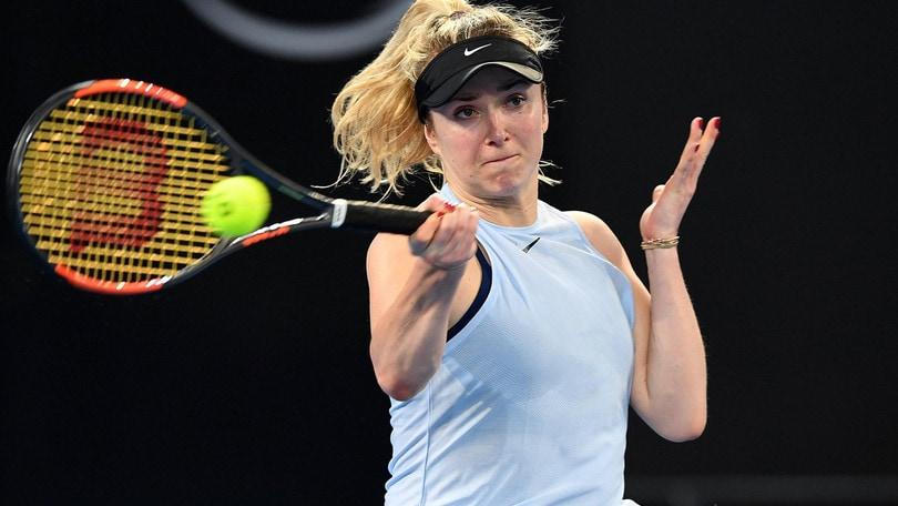 Tennis: Brisbane, Svitolina approda ai quarti