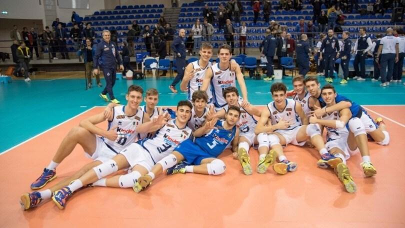 Volley: Qualificazioni Europee, l'U.18 Maschile travolge la Danimarca