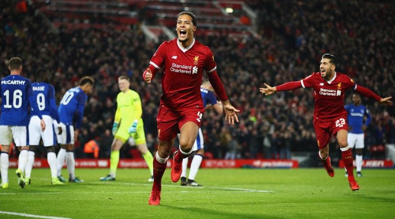 FA Cup, il Liverpool si aggiudica il derby con l'Everton: in gol Van Dijk