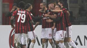 Milan-Crotone 1-0: primo gol di Bonucci in rossonero