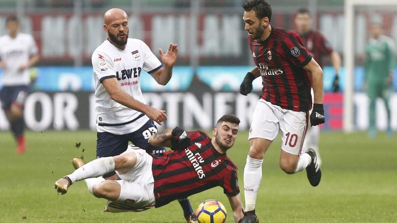 Serie A Milan-Crotone 1-0, il tabellino