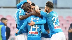 Napoli-Verona 2-0: Koulibaly-Callejon, Sarri sorride