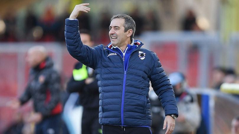 Serie A Sampdoria, Giampaolo: «Sono deluso, manca la mentalità»