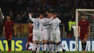 Roma-Atalanta 1-2: Dzeko non basta
