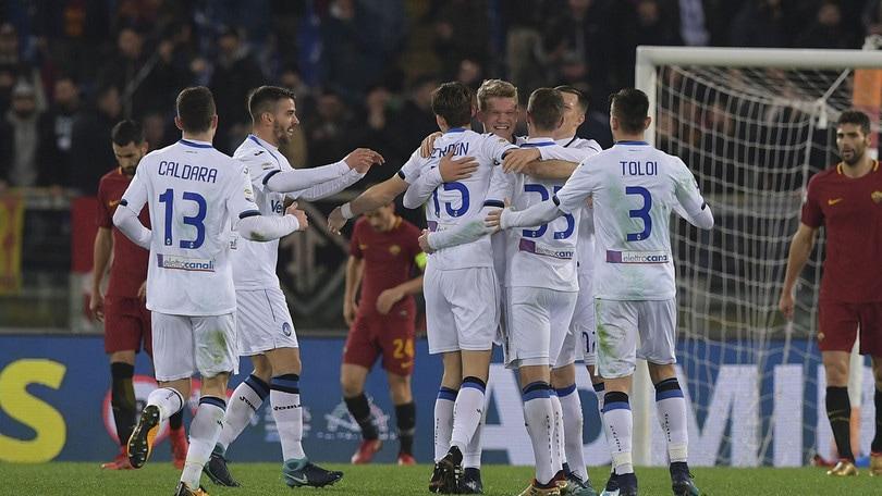 Serie A, Roma-Atalanta 1-2: a Di Francesco non basta il ritorno al gol di Dzeko