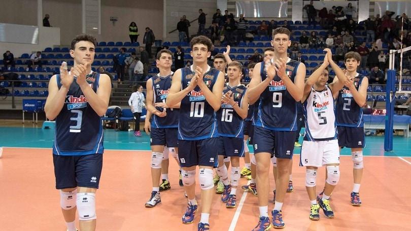 Volley: Qualificazioni Europee, U.18 Maschile: missione compiuta