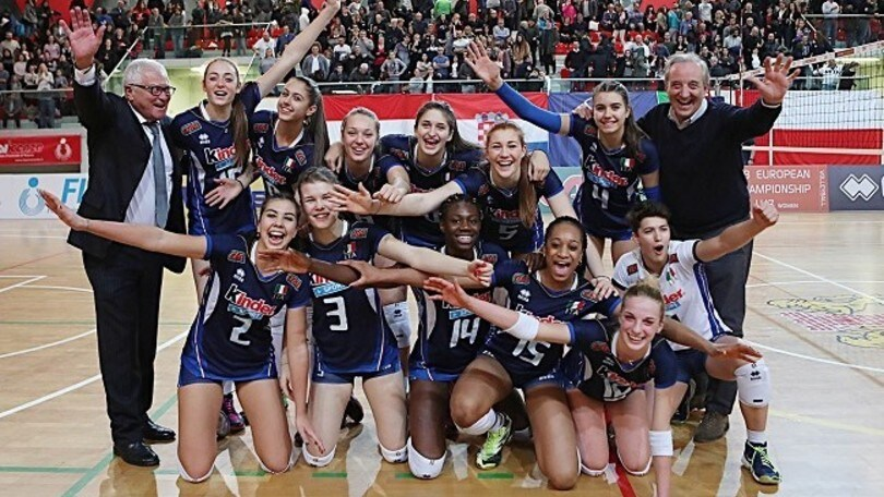 Volley: Qualificazioni Europee, l' U.17 Femminile vola agli Europei