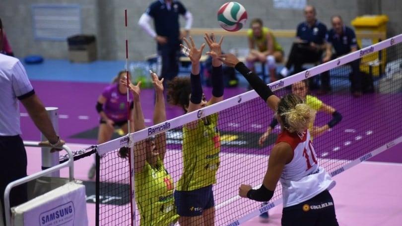 Volley: A2 Femminile, Cuneo perde un punto, Mondovì la raggiunge