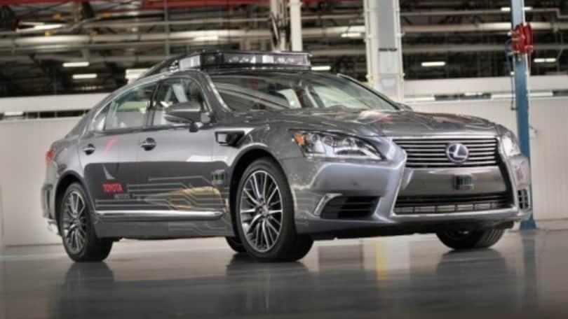 Toyota presenta la guida autonoma 3.0