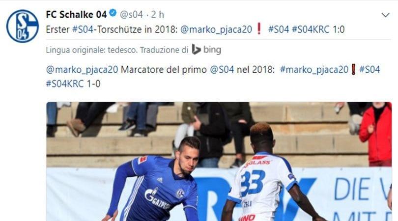 Pjaca già incanta allo Schalke: primo gol in amichevole