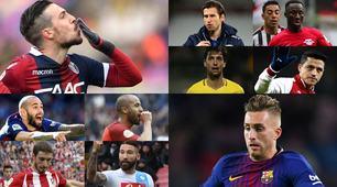 Calciomercato, 20 giocatori che possono cambiare squadra a gennaio