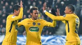 Coppa di Francia, il Psg demolisce il Rennes. Passa anche il Nantes