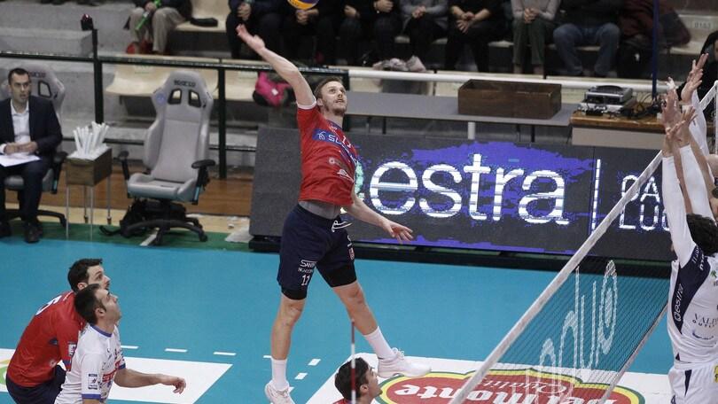 Volley: A2 Maschile, Girone Bianco: Roma vince a Siena ed è prima da sola