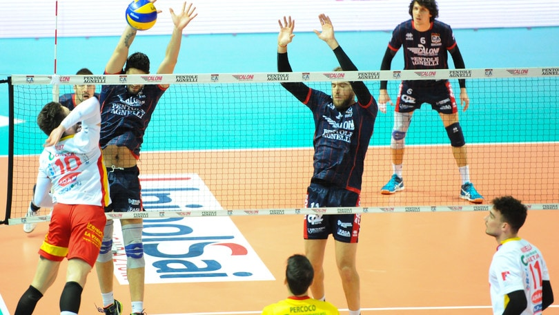 Volley: A2 Maschile, Girone Blu: Bergamo in fuga solitaria