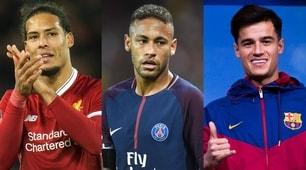 Coutinho e Van Dijk nella top 10 degli acquisti più cari di sempre