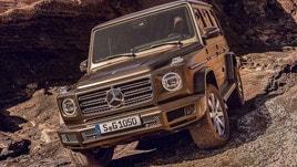 Mercedes Classe G 2018, tutte le foto già in rete