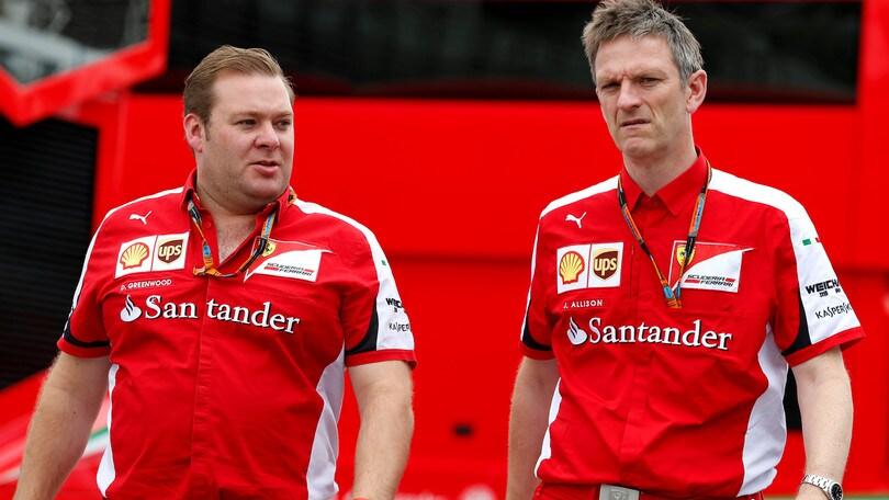 Ferrari, Raikkonen dà l'addio a Greenwood