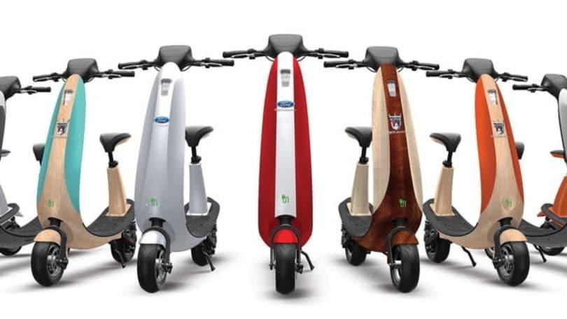 Ford lancia lo scooter elettrico