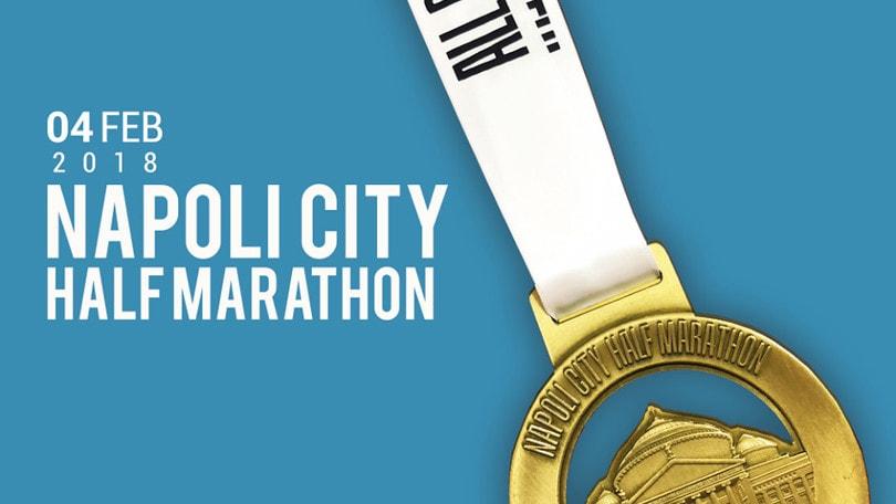E' arrivata la medaglia della Napoli City Half Marathon