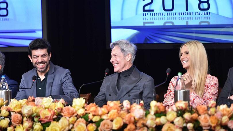 Sanremo 2018, le parole di Baglioni, Favino e Hunziker. Ecco gli ospiti internazionali