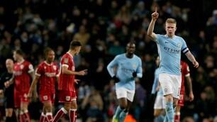 Manchester City-Bristol 2-1: decide Aguero al 92'