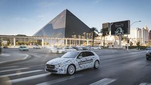Mercedes Classe A camuffata a Las Vegas