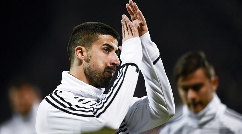 Juventus, Khedira: «Emre Can va preso al volo»