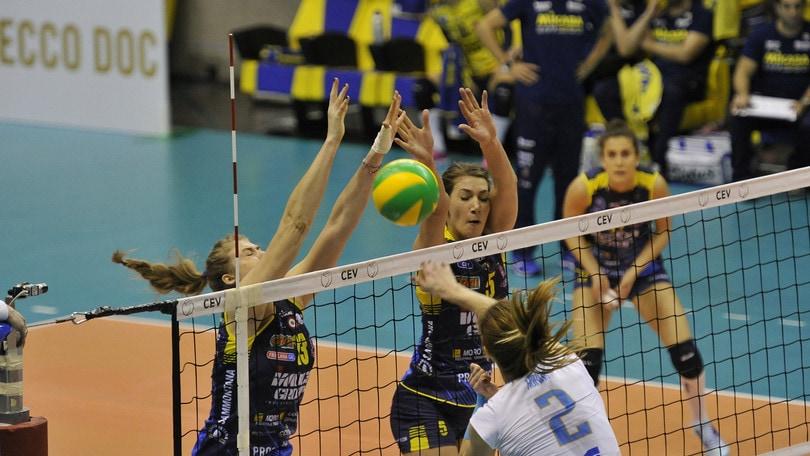 Volley: Champions Femminile, per Conegliano buona la seconda: battuto il Prostejov