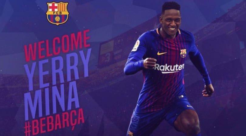 Calciomercato, Yerry Mina-Barcellona ora è ufficiale
