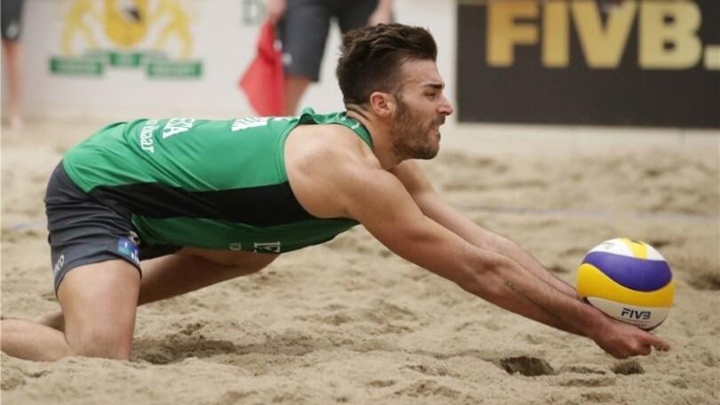 Volley: Beach Volley a Pelhrimov vanno avanti Ranghieri-Caminati