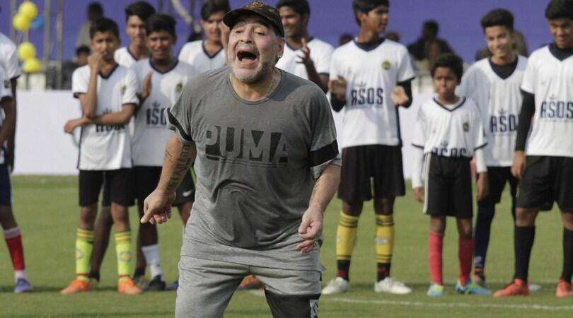 Siviglia, Maradona: «Montella al posto di Berizzo è una follia»