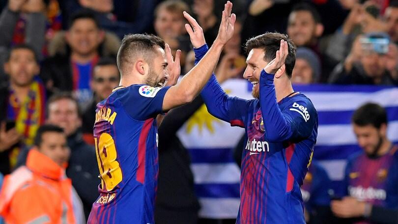 Un super Barcellona ai quarti di Coppa del Re: 5-0 al Celta