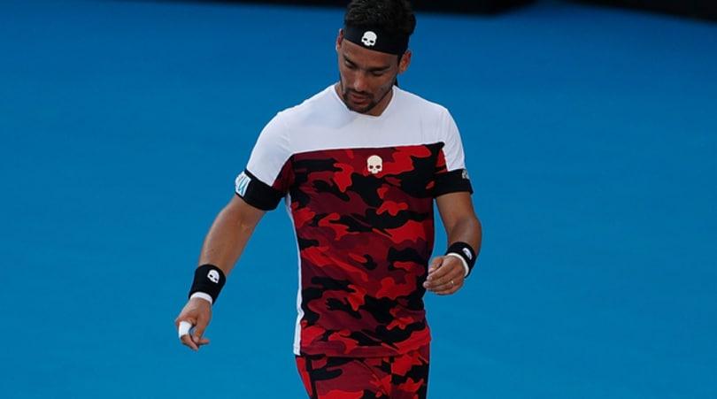 Tennis, Sydney: Fognini eliminato in semifinale