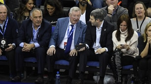 Pallotta e le stelle della Premier tra il pubblico di 76ers-Celtics