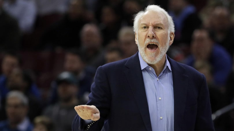 NBA, Popovich svela: «In estate Aldridge ha chiesto la cessione»