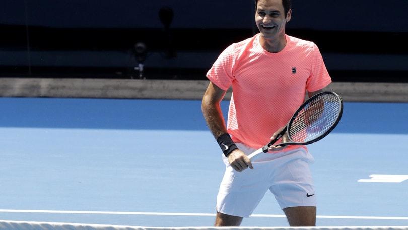 Tennis, Australian Open: Federer favorito