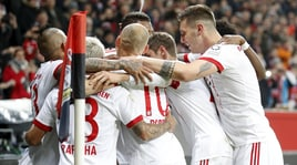 Bayer Leverkusen-Bayern Monaco 1-3, Heynckes riparte da un tris