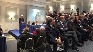 L'assemblea della Lnd riunita a Roma