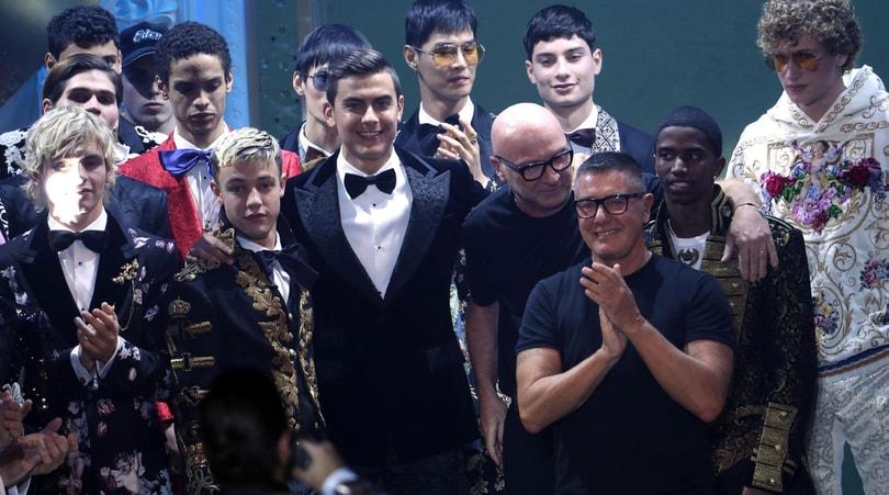 Dybala modello per Dolce&Gabbana