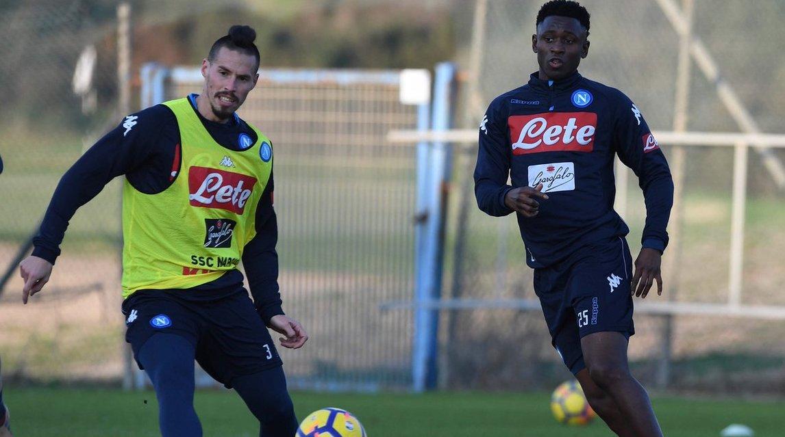 Allenamento con i nuovi compagni per il francese: il 2018 si apre con l'azzurro