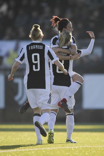 La squadra di Rita Guarino travolge il Fimauto Valpolicella Chievo Verona a Vinovo nel primo match di campionato del nuovo anno: doppiette di Glionna, Zelem e Bonansea