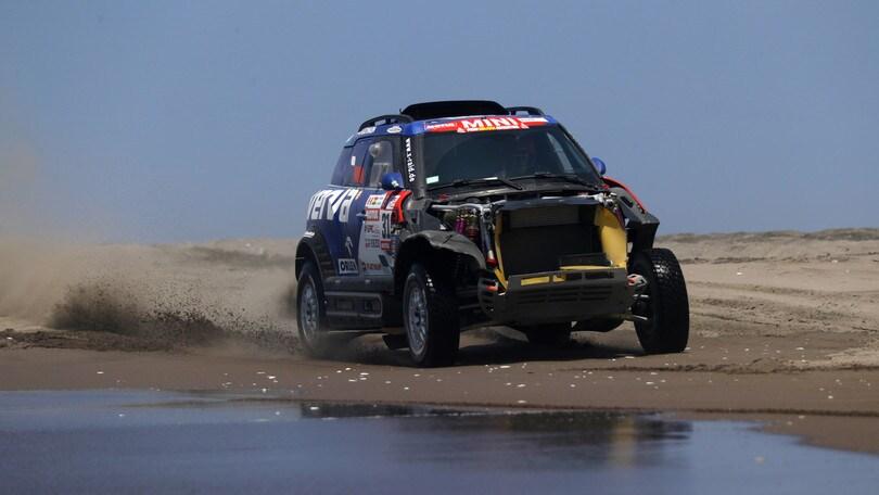 Dakar, in Bolivia l'insidia è il fango