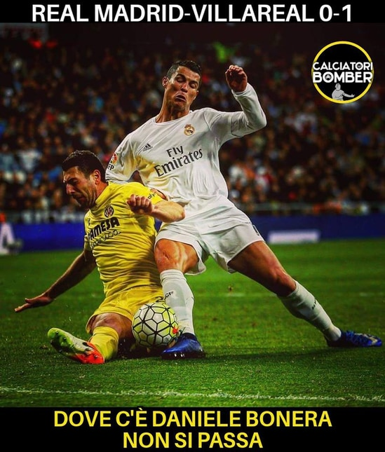 Il Villarreal vince di misura contro il Real Madrid espugnando il Bernabeu e per il web è soprattutto merito del difensore