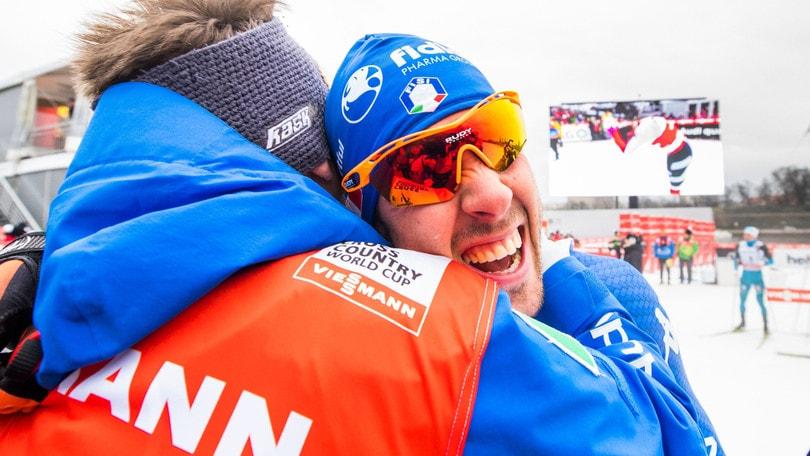 Sci nordico: team sprint, trionfano Pellegrino e Noeckler